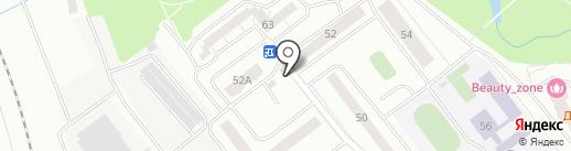 Магазин продуктов на карте Нахабино