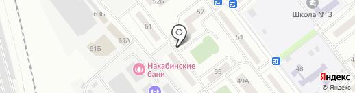 Тренажерный зал на карте Нахабино