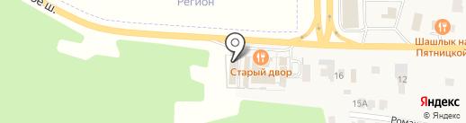Roze на карте Брёхово