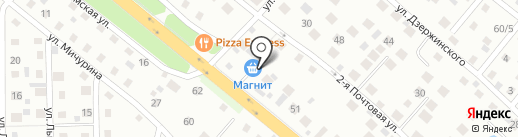 Магазин стройматериалов и хозтоваров на карте Нахабино
