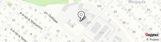 Нова Строй на карте Нахабино