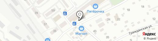 Магазин фруктов и овощей на карте Нахабино