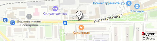 Парикмахерская на карте Нахабино