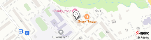 Буханка на карте Нахабино