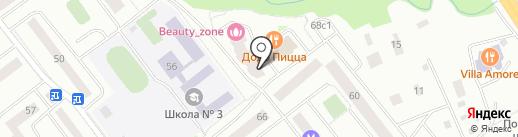 DO2 на карте Нахабино
