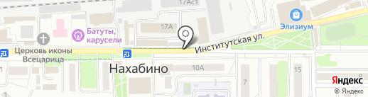 Ветеринарная клиника доктора Алиева на карте Нахабино