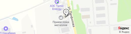 Интернет-магазин по продаже обоев на карте Нахабино