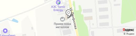 Магазин автозапчастей на карте Нахабино