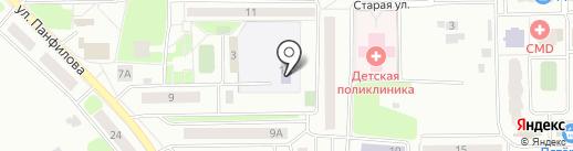 Детский сад №23 на карте Нахабино