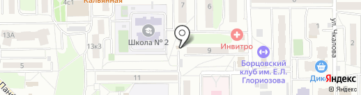 Национальный платежный сервис на карте Нахабино