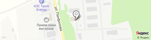 Авангард на карте Нахабино
