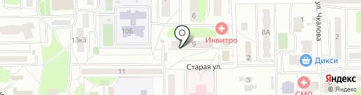 Русс-сайт на карте Нахабино