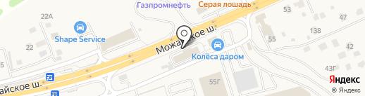 А-Массаж на карте Юдино