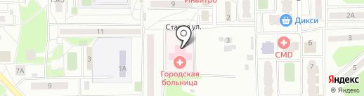 Банкомат, Банк Возрождение, ПАО на карте Нахабино
