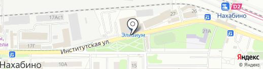 Платежный терминал, Московский кредитный банк, ПАО на карте Нахабино