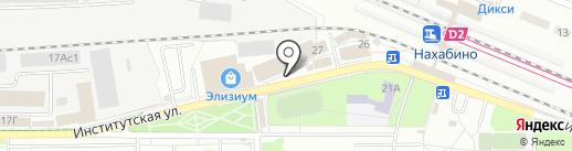 МТС на карте Нахабино