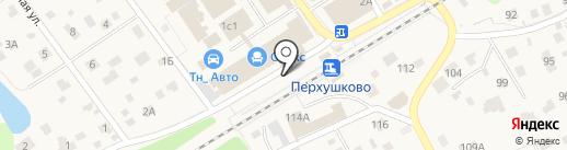 Перхушково на карте Юдино