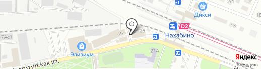 1xbet на карте Нахабино