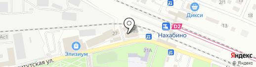 Магазин бытовой химии на карте Нахабино