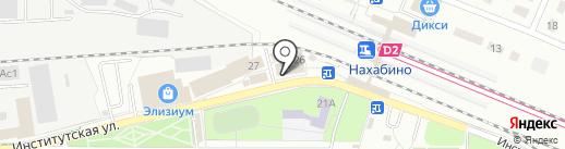 МегаФон на карте Нахабино