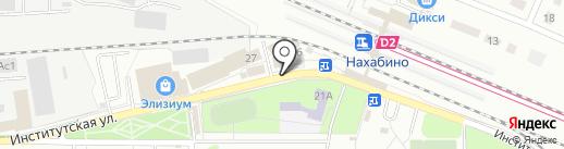У Оксаны на карте Нахабино
