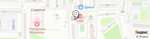 Нахабинская школа искусств на карте Нахабино