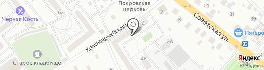 Мастерская художественной ковки на Красноармейской на карте Нахабино