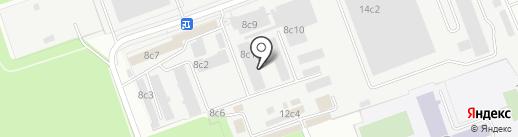 Радис Лтд на карте Москвы