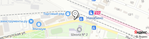 Данчелито на карте Нахабино