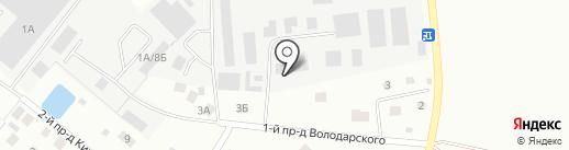 Дана на карте Нахабино