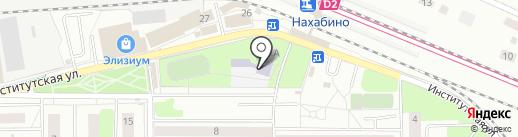 Средняя общеобразовательная школа №2 на карте Нахабино