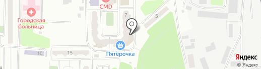 Администрация Красногорского муниципального района на карте Нахабино