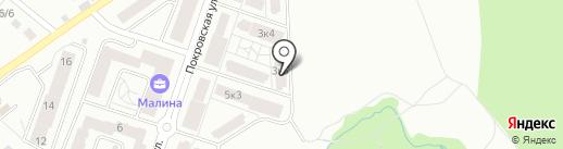 Бест-Новострой на карте Нахабино