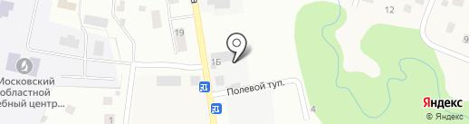 Шиномонтажная мастерская на Совпартшколе на карте Нахабино