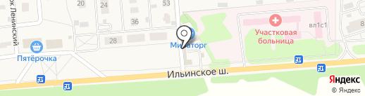 Лаззат на карте Петрово-Дальнего