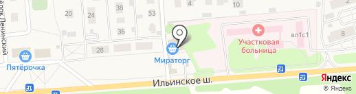 Вуаля на карте Петрово-Дальнего