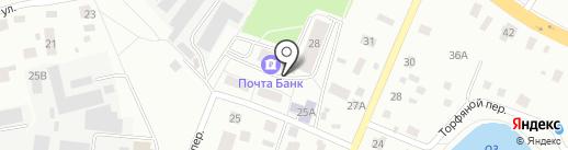 Фасоль на карте Нахабино