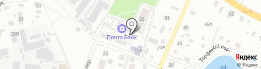 Контур-М на карте Нахабино
