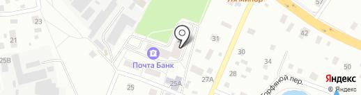 Почтовое отделение №143430 на карте Нахабино