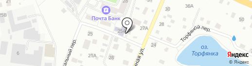 Городская библиотека №3 на карте Нахабино