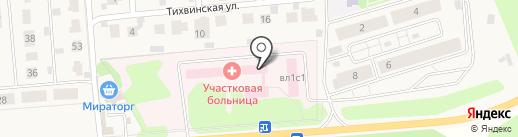 Мособлмедсервис, ГБУ на карте Петрово-Дальнего