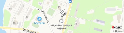 Администрация городского округа Власиха на карте Власихи