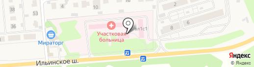 Петрово-Дальневская больница на карте Петрово-Дальнего