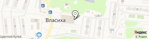 Власиха на карте Власихи