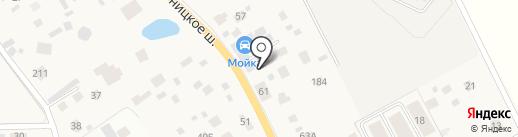 Автомойка на карте Брёхово
