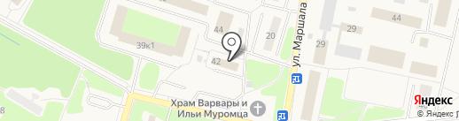 Межмуниципальное управление МВД России Власиха на карте Власихи