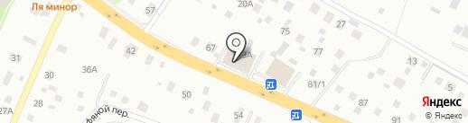 Краски.ru на карте Нахабино