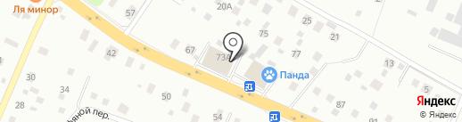 Магазин товаров для дома и сада на карте Нахабино