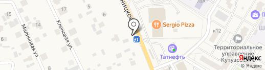 Мастерская по ремонту автостекол на карте Брёхово