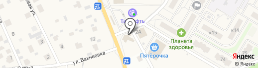 Магазин автозапчастей на карте Брёхово